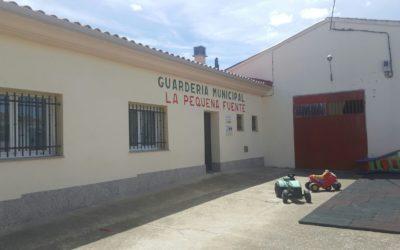 """Abierto plazo de matrícula en la guardería municipal """"La pequeña fuente"""""""
