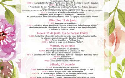 Programa de Fiestas Corpus Christi 2017