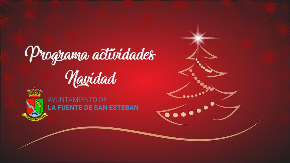 Programa de actividades para Navidad