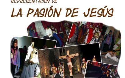 Representación de la Pasión de Cristo en La Fuente de San Esteban