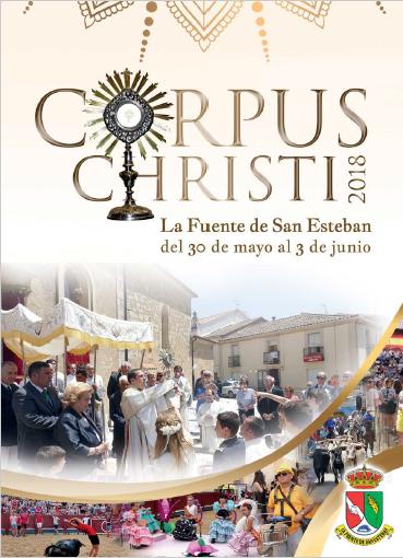 Programa de Fiestas Corpus Christi 2018