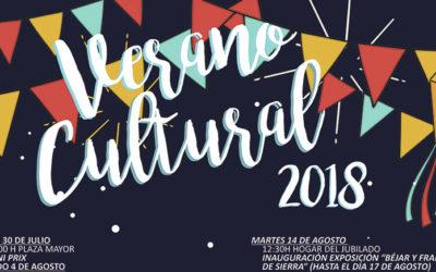 Programación de nuestro verano cultural 2018