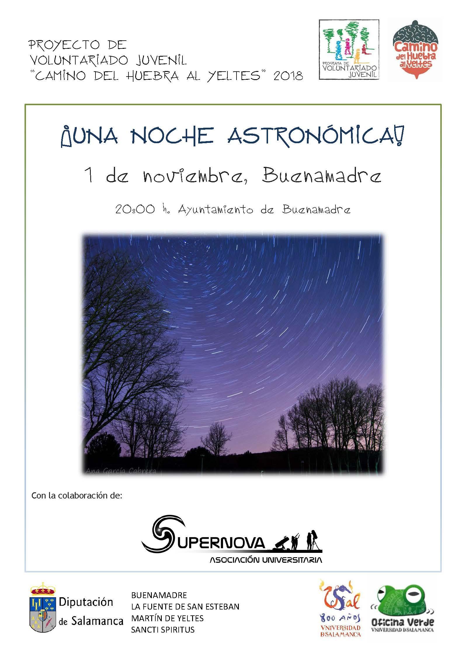 Una noche astronomica