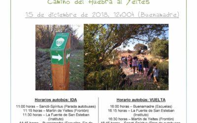 """Jornada de clausura del proyeto de voluntariado juvenil """"Camino del Huebra al Yeltes"""""""