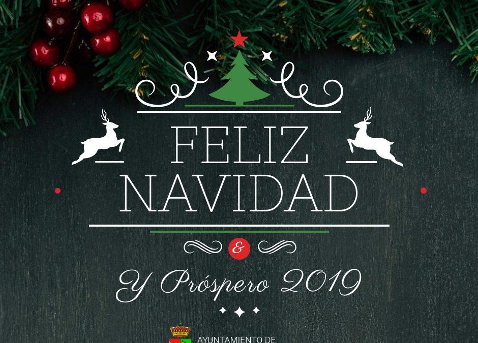 El Ayuntamiento de La Fuente de San Esteban os desea unas Felices Fiestas