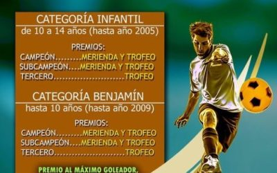 XXXII Campeonato Fútbol Sala Infantil y Benjamín
