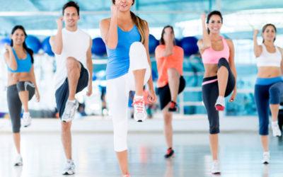 Clases de aerobic y actividades dirigidas