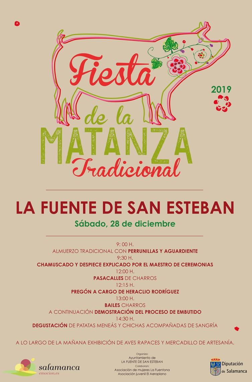 Cartel-fiesta-matanza-2019-La-Fuente-de-San-Esteban