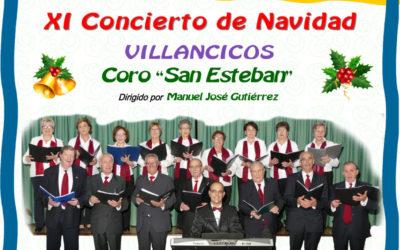 XI Concierto de Navidad. Villancicos Coro San Esteban
