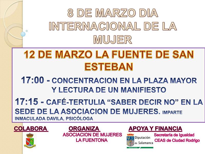 dia-internqacional-mujer-cartel-lafuentedesanesteban