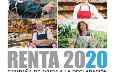 Renta 2020 Campaña de ayuda a la declaración en el medio rural